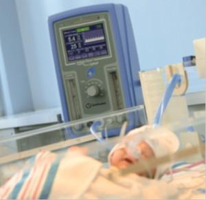 1 Infant Flow SIPAP с младенцем